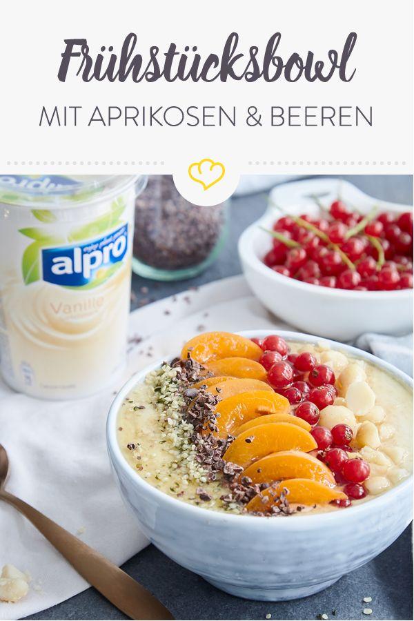 [Anzeige] Beginne den Morgen mit einer vanillig-fruchtigen Frühstücksbowl [In … – Leckere vegane Rezepte