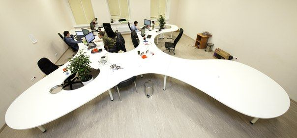 Офис компании MYSALE от студии Oneione