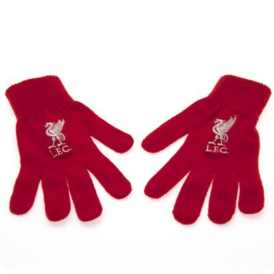 liverpool winter gloves red FC Liverpool Official Merchandise Available at www.itsmatchday.com