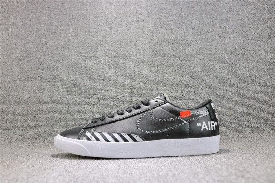 on sale 4457c 6c987 Off-White x Nike Blazer Low  Black White  AA3962-001
