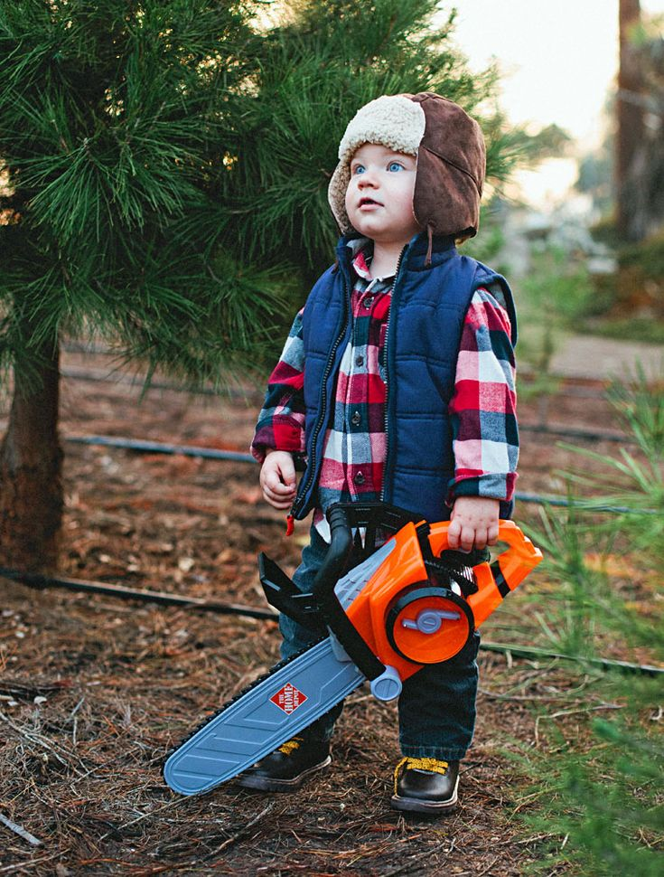 Christmas Ranch Tree Farms Little Lumberjack @bayslater - I can so see this being Oliver!!
