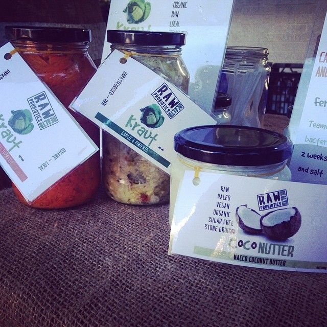 - Wei'er @ Raw Health Probiotics Smoked garlic & Pimiento Kraut jam packed with living probiotics rich in fiber lowers bad cholesterol & regulates blood pressure good for skin, heart &...http://homefreshcommunity.com.au/2014/09/24/raw-health-probiotics-health-benefits-of-our-kraut/
