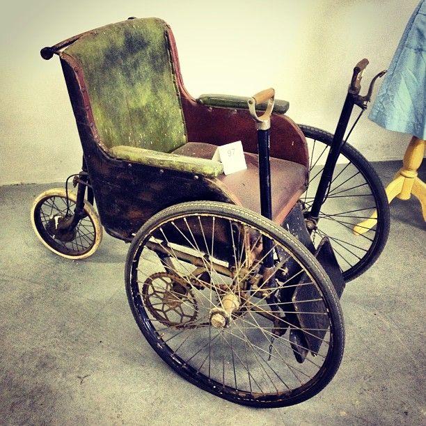 Kryal Castle medical collection auction #medical #wheelchair #kryalcastle #antique