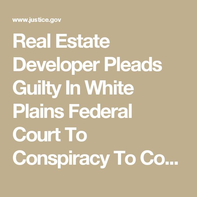 Real Estate Developer Pleads Guilty In White Plains Federal Court To Conspiracy To Corrupt The Electoral Process In Bloomingburg | USAO-SDNY | Department of Justice