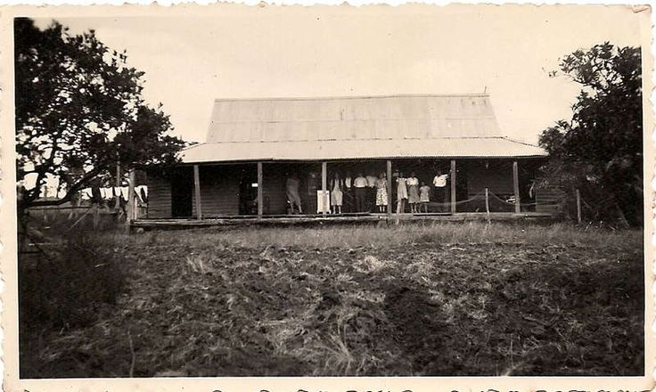 Australian homestead 1920's