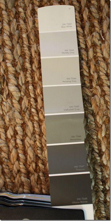 Sherwin williams paint swatch paint pinterest Dark grey paint samples