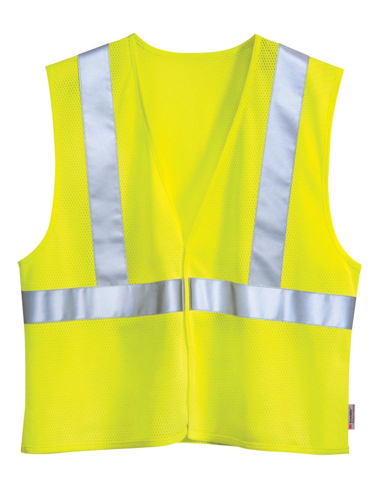 Polyester Safety Vest (Ansi Class 2 / Level 2) Tri mountain 8430 #Safety #tough #vest #Trimountain