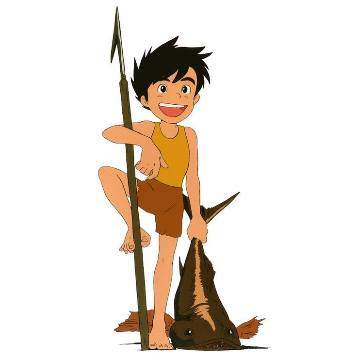 """Future Boy Conan 未来少年コナン""  Animation Cels 
