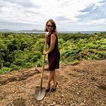 It's official. We broke ground for our B&B at Mar Vista, Flamingo Costa Rica. Now work will have an ocean view!
