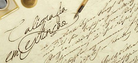 A letra cursiva esteve presente na história da humanidade desde as primeiras pedras lascadas até a tinta sobre papel.