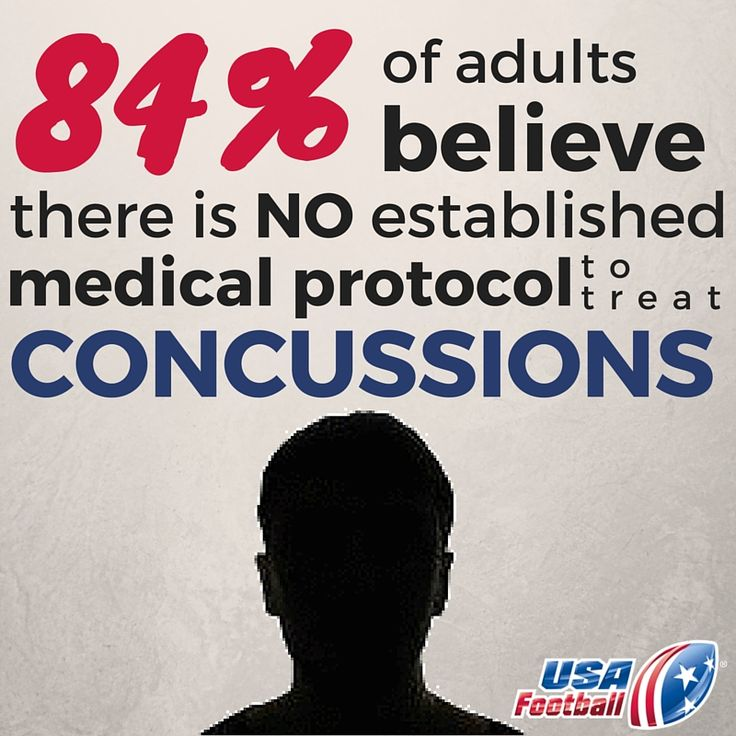 Did you know about 84% of adults believe there is no established medical protocol to treat concussions? Click the photo to learn more about this study #health #safety #football #headsupfootball #usafootball