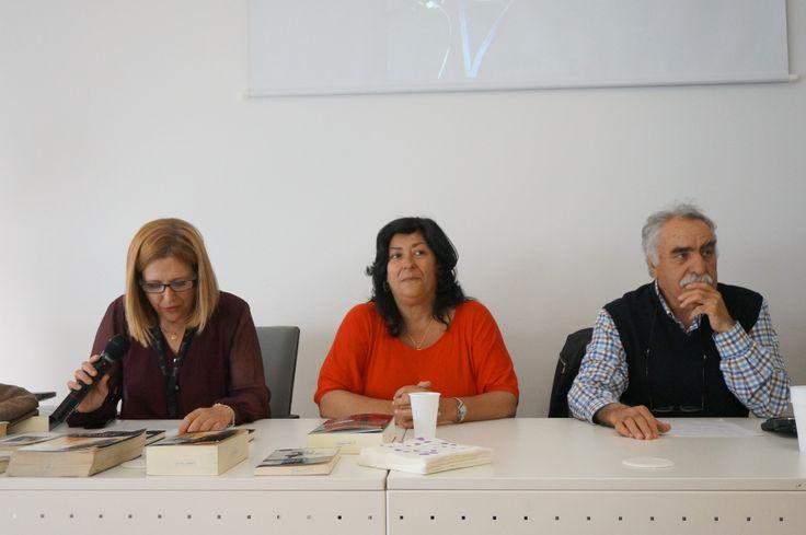Encuentro con Almudena Grandes en la BPM Ángel González.