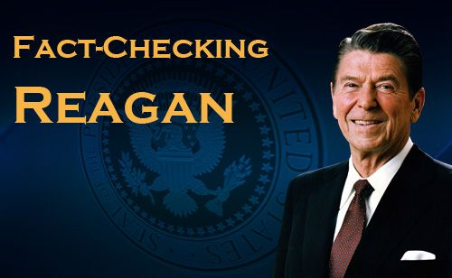 5 Ways To Annoy Republicans: Fact-Checking Ronald Reagan - Liberals Unite | Liberals Unite - for the meme-ers who were in diapers when RR was pres.