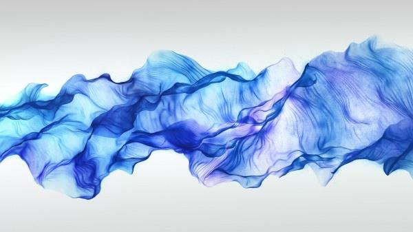 Blue silk on whiteLine Drawings, Blue Silk, Amazing Art, Simple Line Drawing, Blue Lights, Interactive Art, Desktop Backgrounds, Desktop Wallpapers, Art Projects