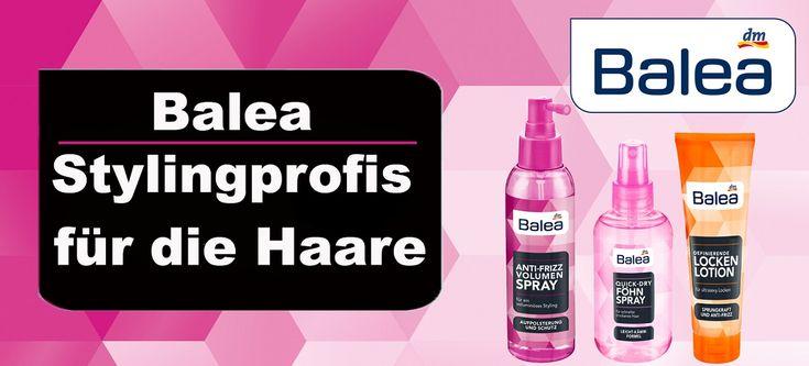 Balea Stylingprofis für die Haare…