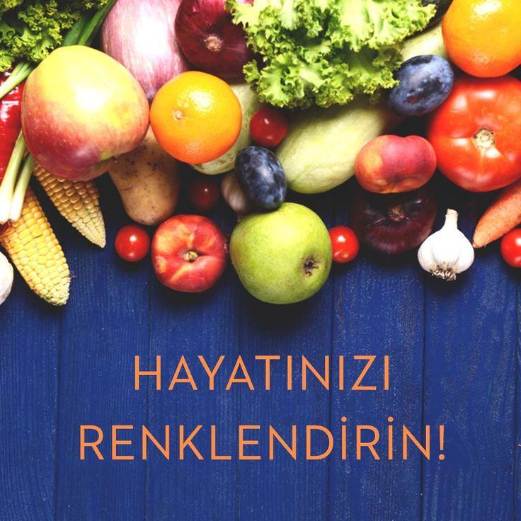 Sağlıklı bir yaşam için meyve ve sebze tüketimimizi arttıralım! #kudretinternational #ankara #turkey #turkiye #hastane #hospital #sağlık #health #healthy #hospital
