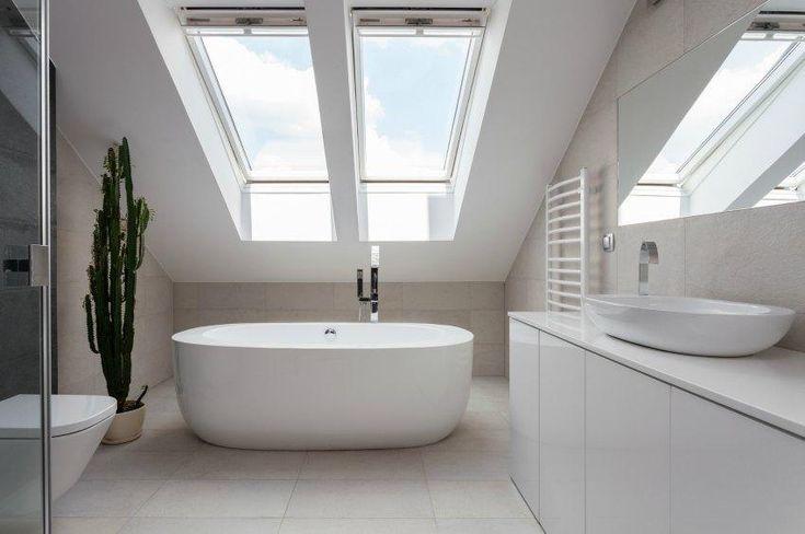 Afbeeldingsresultaat voor badezimmer dachschräge