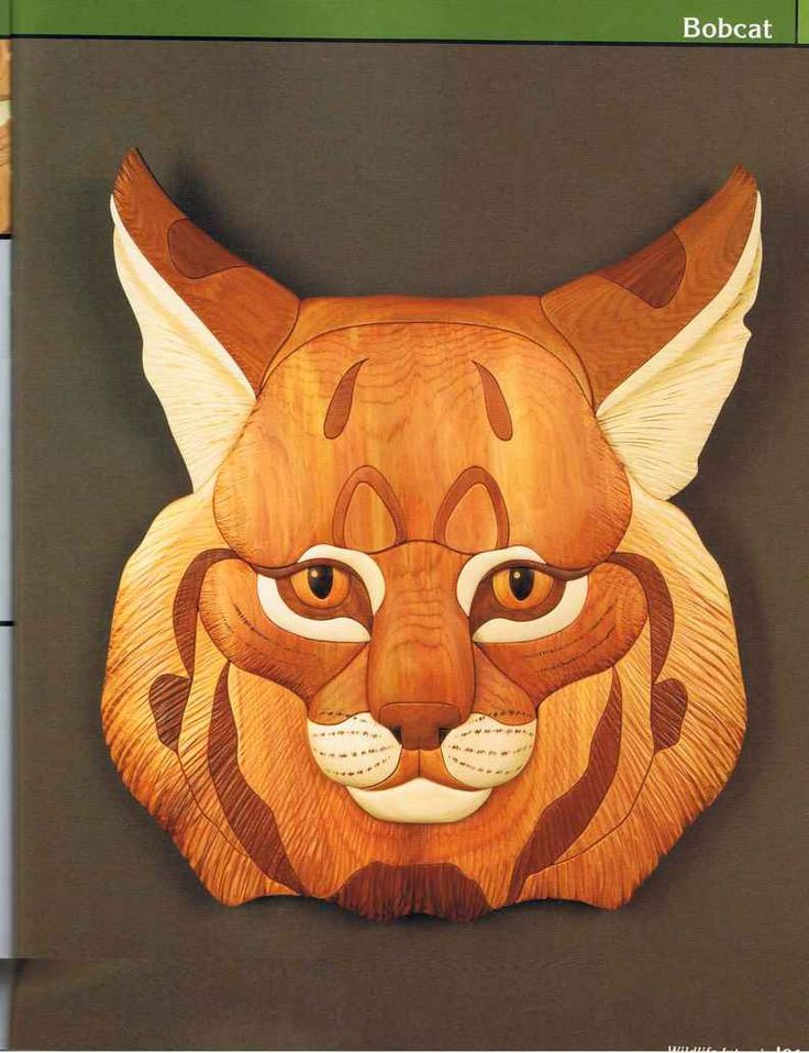 Wood - Wildlife Intarsia - Woodworking Archive