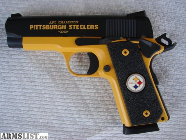 Pittsburgh Steelers~gun