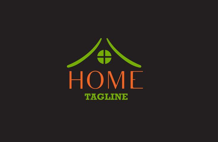 Home logo by CreativeToons on @creativemarket