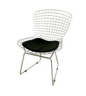 I want these chairs, this is a repro and its still $140. The original Bertoia Chairs are $$$, but I WANT!!!!