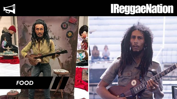 Talented Baker Makes Cakes Looking Exactly Like Bob Marley, Donald Trump & Others