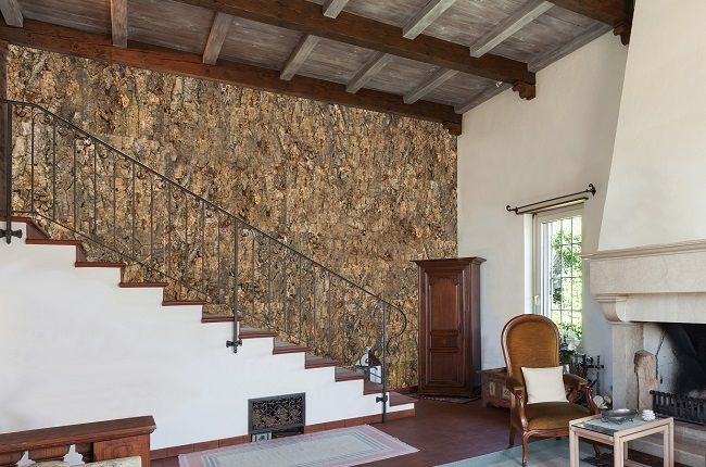 Cork wall tiles are naturally beautiful and great for adding warmth to your decor.