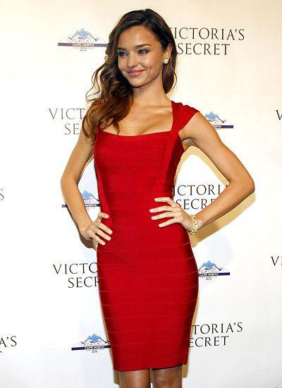 """""""Victoria's Secret""""-Model Miranda Kerr macht nicht nur in Unterwäsche eine gute Figur"""