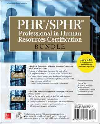 PHR/Sphr Professional in Human Resources Certification: Practice Exams, Green