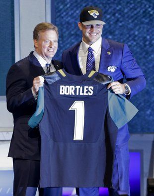 UCF's Blake Bortles was the first QB selected in the 2014 NFL draft.