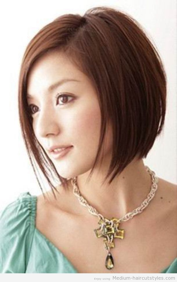 If you have fine hair... This style will immediately create thickness and sleekness altogether.