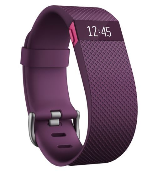 Fitbit Charge HR Plum - Large - Boots