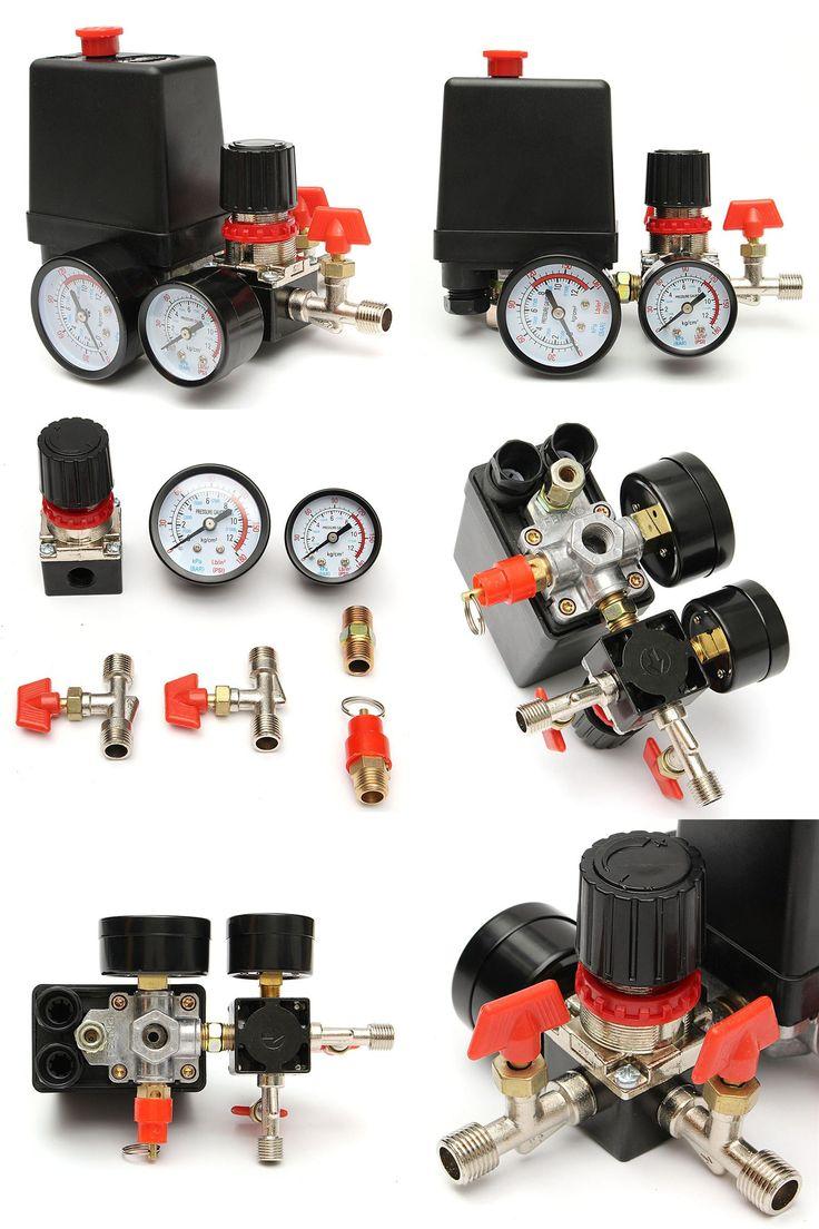 [Visit to Buy] 125PSI Air Compressor Pressure Valve Switch