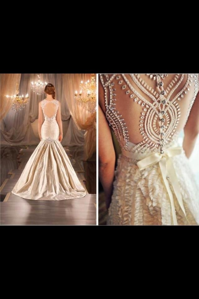 Detailing perfect for Indian reception dress