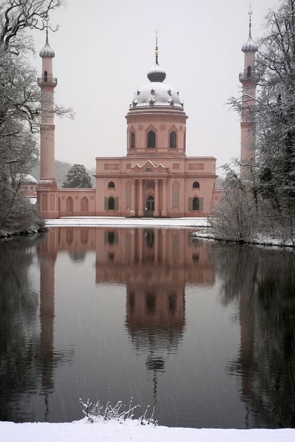 Germany's first mosque is in the garden of Schwetzingen's Palace. Built in 1780, it is the largest oriental-style building in Germany