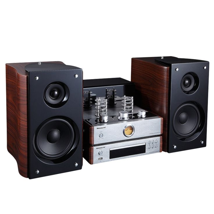 399.99$  Buy here - http://aliktx.worldwells.pw/go.php?t=32623535147 - Nobsound TAP-525 5'' tube amplifier hifi set mini stereo system speaker+DVD player kit system 399.99$