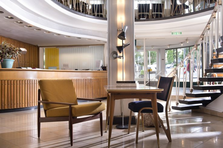 comfortable lobby at Days Inn Hotel Kassel Hessenland