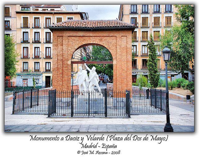 Madrid. Monumento a Daoiz y Velarde (Plaza del Dos de Mayo). | Flickr - Photo Sharing!