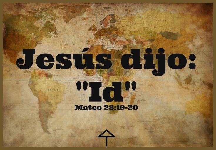 Mateo 28:19-20