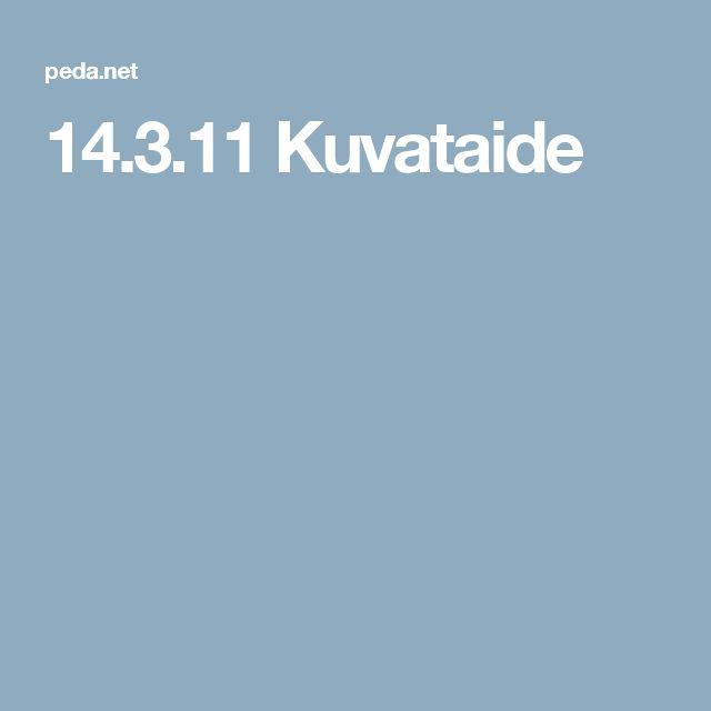 14.3.11 Kuvataide