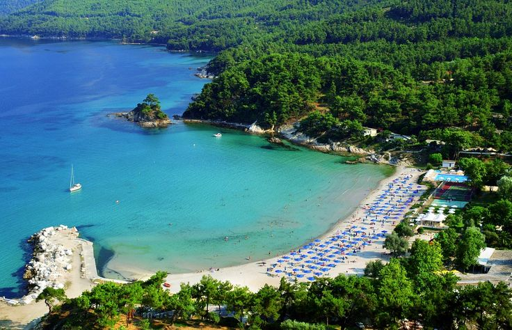 Beautiful secluded beaches of the Aegean - Thassos #Macedonia in northern #Greece #macedonia2014