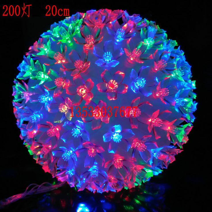 Новый 10 СМ СВЕТОДИОДНЫЕ фонари флэш вишня персик мяч Рождество праздничные огни Новый Год Фонарь Китайский Новый Год декоративные огни