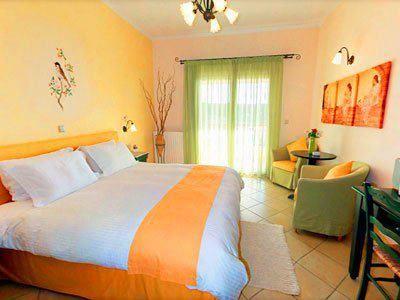 #Accommodation at #DelfinoBlu hotel #Corfu
