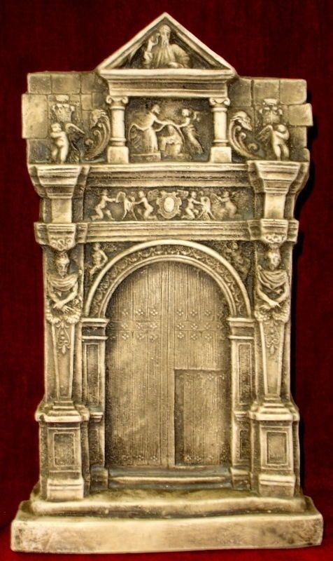 architecture wall decor antique finish greek roman style on wall art id=22301