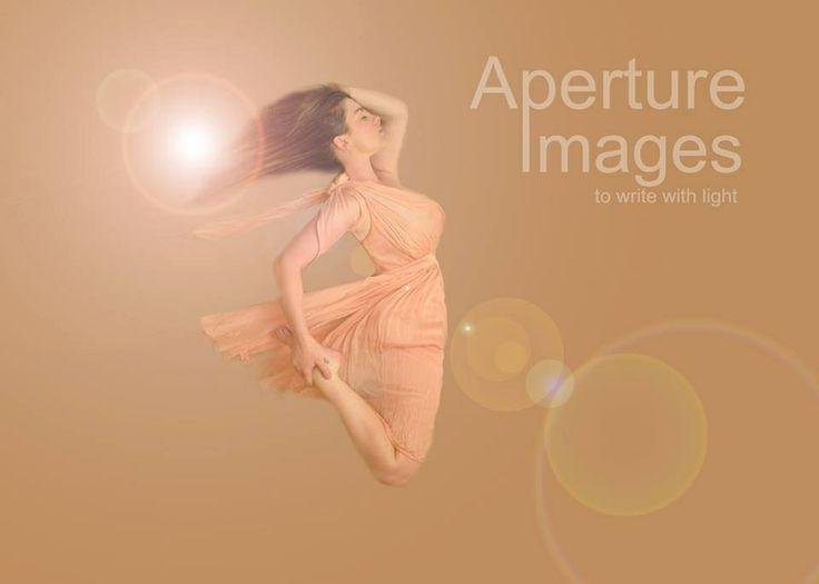 Self portrait, lens flare, floating, flying, dress, wind, aperture images, fine art