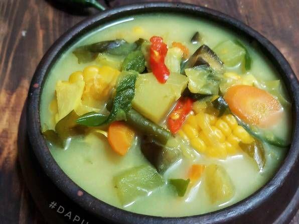 Resep Sayur Lodeh Kuning Fiber Creme Bumbu Iris Oleh Dapurvy Resep Makanan Fotografi Makanan Makanan Enak