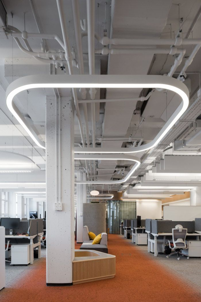 Office Tour Align Technology Offices Moscow Industrial Office Design Office Lighting Design Office Interior Design