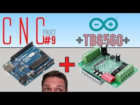 First DIY CNC machine build (Part 3) - Figuring out the ELECTRONICS - Arduino Genuino UNO GRBL - YouTube