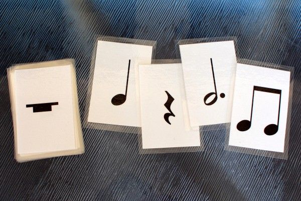 free note value cards. Can be used as an ice breaker
