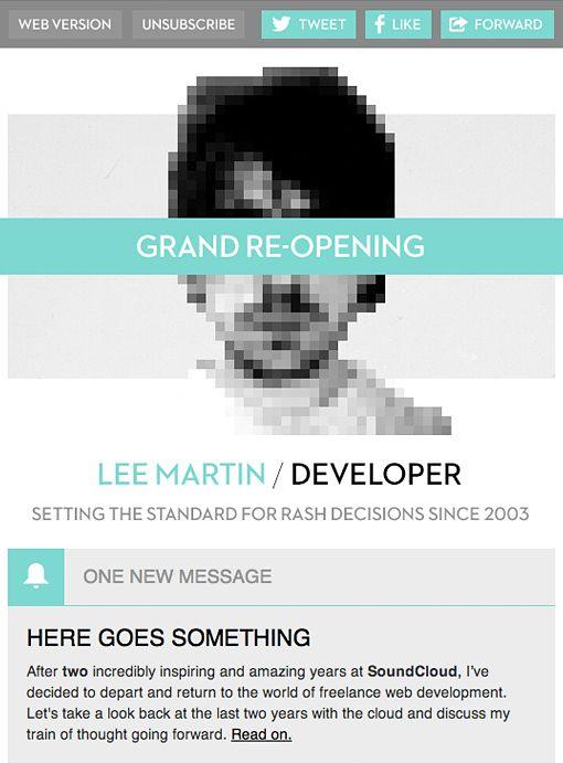 Lee Martin - Campaign Monitor